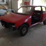 lakierowanie samochodu peugeot 205 01