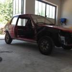 lakierowanie samochodu peugeot 205 03