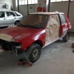 lakierowanie samochodu peugeot 205 04