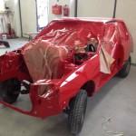 lakierowanie samochodu peugeot 205 09