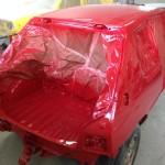 lakierowanie samochodu peugeot 205 11
