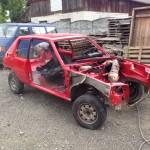 lakierowanie samochodu peugeot 205 12