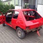 lakierowanie samochodu peugeot 205 15