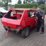 lakierowanie samochodu peugeot 205 16
