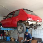 lakierowanie samochodu peugeot 205 20
