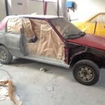 lakierowanie samochodu peugeot 205 05