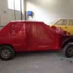 lakierowanie samochodu peugeot 205 07