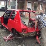 lakierowanie samochodu peugeot 205 14