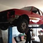 lakierowanie samochodu peugeot 205 21